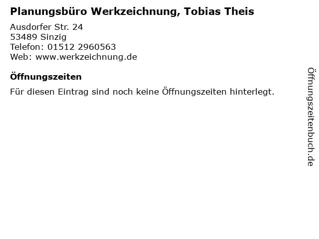 Planungsbüro Werkzeichnung, Tobias Theis in Sinzig: Adresse und Öffnungszeiten