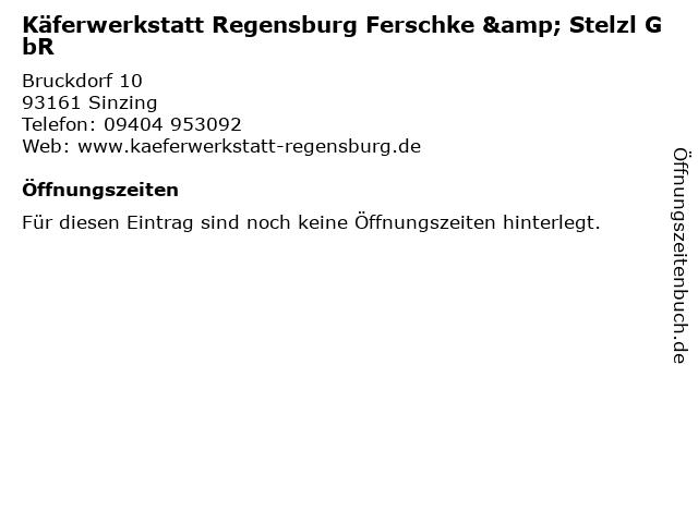 Käferwerkstatt Regensburg Ferschke & Stelzl GbR in Sinzing: Adresse und Öffnungszeiten