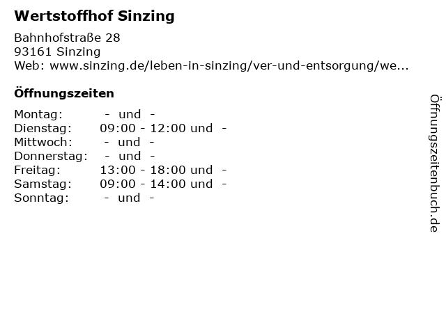 Wertstoffhof Sinzing