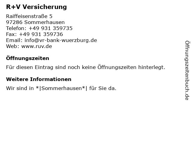 ᐅ Offnungszeiten Volksbank Raiffeisenbank Wurzburg Eg Filiale