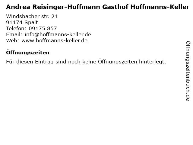 gasthof hoffmanns keller spalt