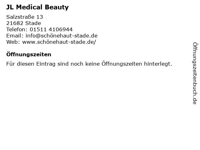 JL Medical Beauty in Stade: Adresse und Öffnungszeiten
