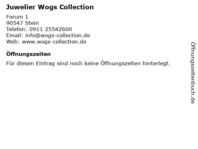 Wogs Juwelier in Stein bei Nürnberg: Adresse und Öffnungszeiten