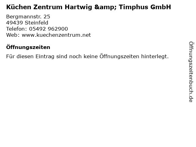 ᐅ Offnungszeiten Kuchen Zentrum Hartwig Timphus Gmbh