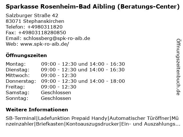sparkasse rosenheim online