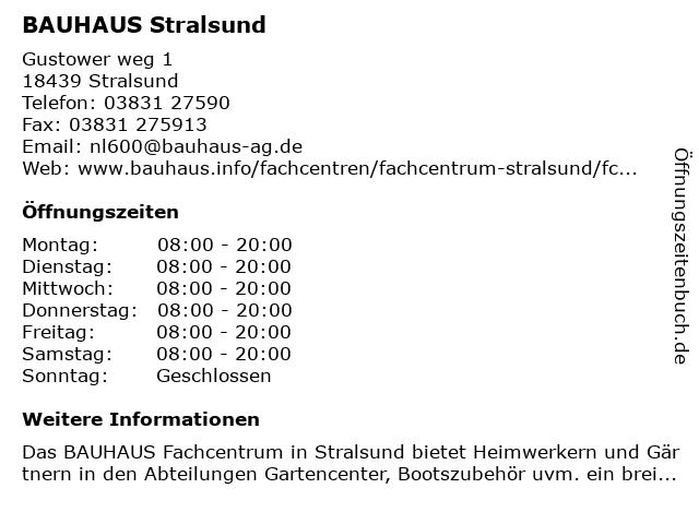 Bauhaus Stralsund
