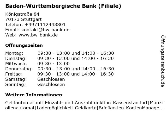 Bw bank schwäbisch gmünd