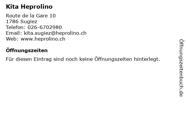 Kita Heprolino in Sugiez: Adresse und Öffnungszeiten