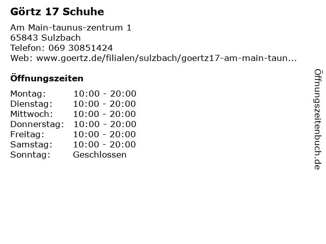 7f5a5921a22411 Bilder zu Görtz 17 in Sulzbach (Taunus)