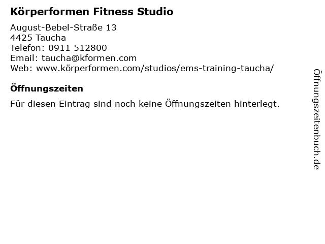 Körperformen Fitness Studio in Taucha: Adresse und Öffnungszeiten