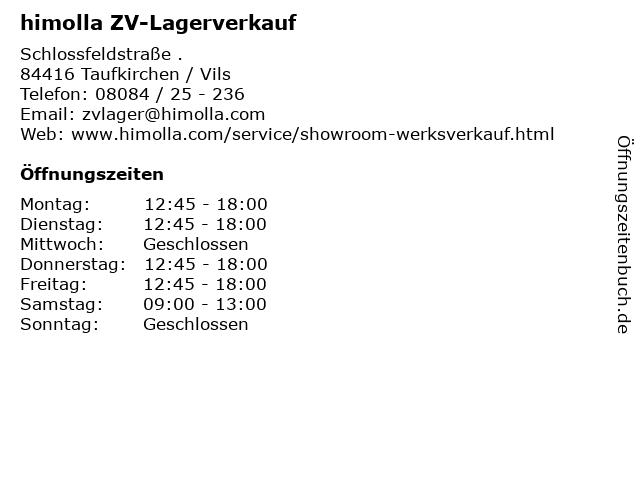 Bilder Zu Himolla ZV Lagerverkauf In Taufkirchen Vils