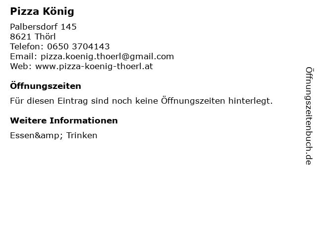 pizza könig geretsried