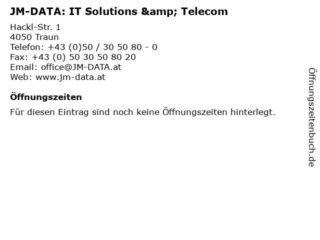 JM-DATA: IT Solutions & Telecom in Traun: Adresse und Öffnungszeiten