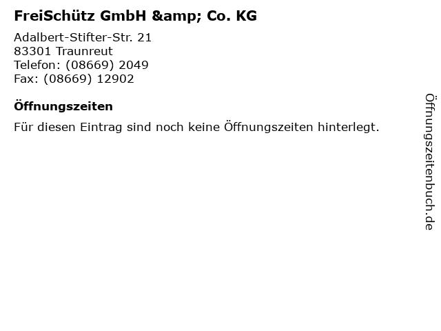 FreiSchütz GmbH & Co. KG in Traunreut: Adresse und Öffnungszeiten
