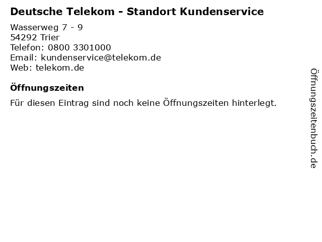 telekom kundenservice email adresse