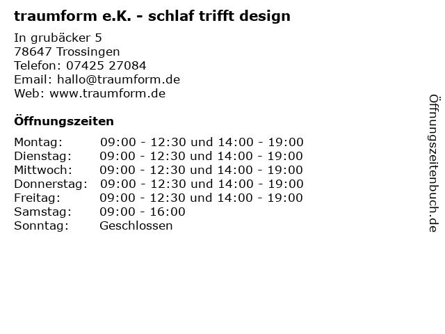 Bettenland Alesi in Trossingen: Adresse und Öffnungszeiten