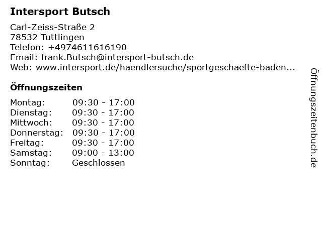17fa6f3ecb162 Bilder zu Intersport Butsch in Tuttlingen