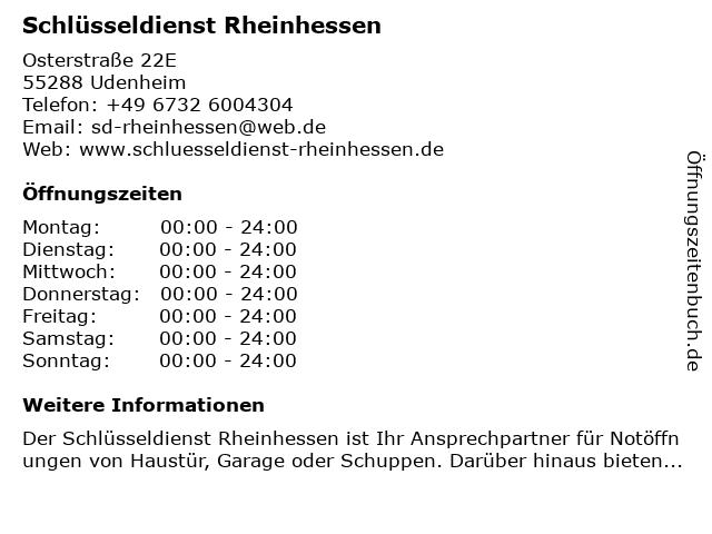 666929ecba182f Bilder zu Schlüsseldienst Rheinhessen in Udenheim