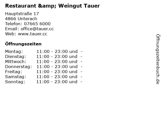 Cafe Restaurant Salzkammergut in Unterach: Adresse und Öffnungszeiten