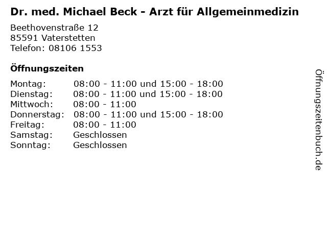Dr Beck Vaterstetten