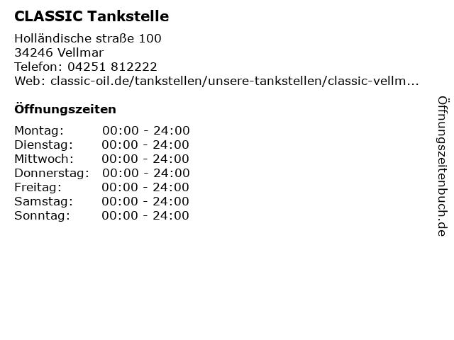 DHL Paketshop in der CLASSIC Tankstelle in Vellmar: Adresse und Öffnungszeiten
