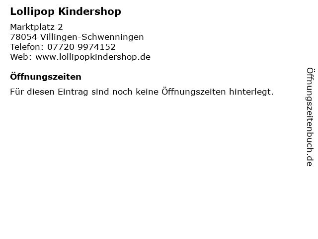 a4bd4b6b2375d1 Bilder zu Lollipop Kindershop in Villingen-Schwenningen