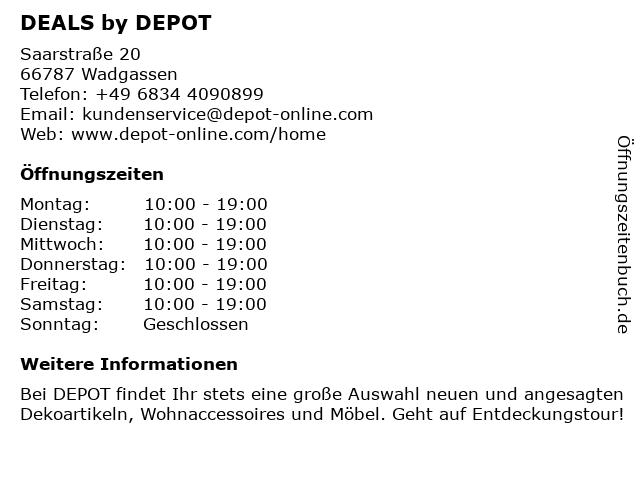ᐅ öffnungszeiten Depot Gries Deco Company Gmbh Saarstraße 20