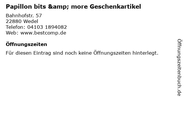 Papillon bits & more Geschenkartikel in Wedel: Adresse und Öffnungszeiten