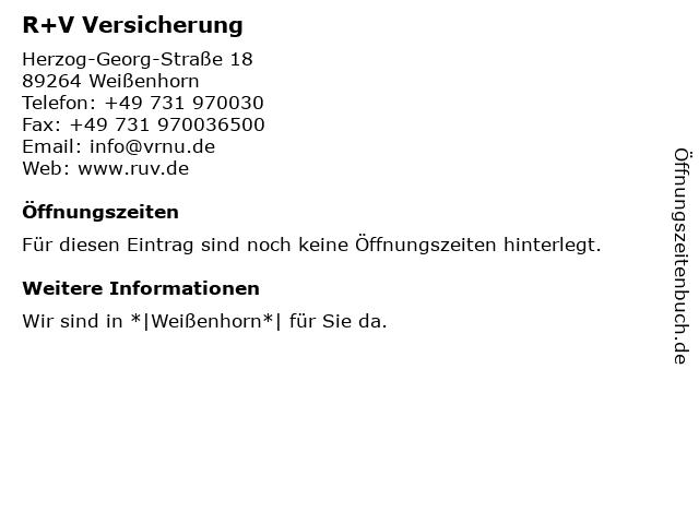 ᐅ öffnungszeiten Vr Bank Neu Ulm Eg Geschäftsstelle Weißenhorn