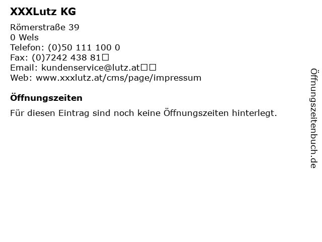 ᐅ öffnungszeiten Xxxlutz Kg Römerstraße 39 In Wels
