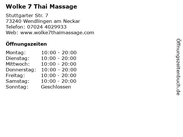 7 schwäbisch wolke hall massage die Steffi's Auszeit