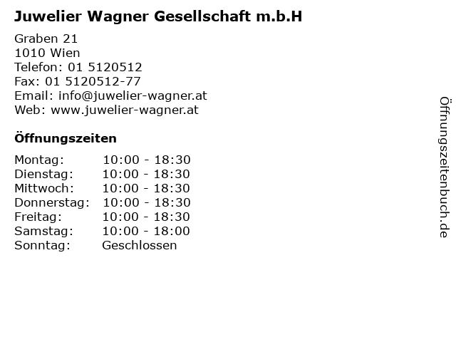 Juwelier Wagner Gesellschaft m.b.H in Wien: Adresse und Öffnungszeiten