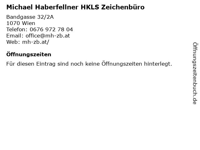 Michael Haberfellner HKLS Zeichenbüro in Wien: Adresse und Öffnungszeiten
