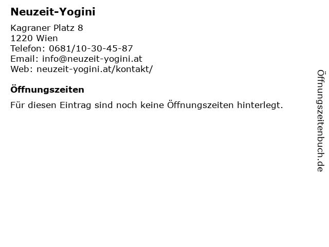 Neuzeit-Yogini in Wien: Adresse und Öffnungszeiten