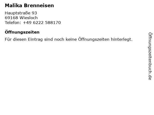 Flugbörse Reisebüro Marita Althaus in Wiesloch: Adresse und Öffnungszeiten