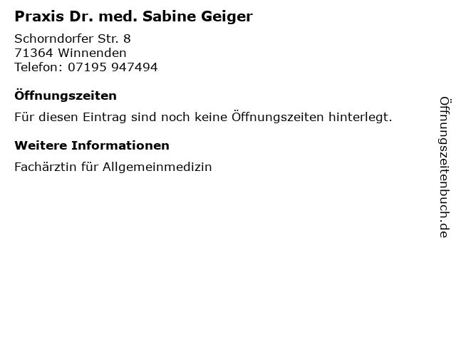 Geiger Winnenden