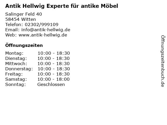 """Antik Experte ᐅ Öffnungszeiten """"antik hellwig experte für antike möbel"""