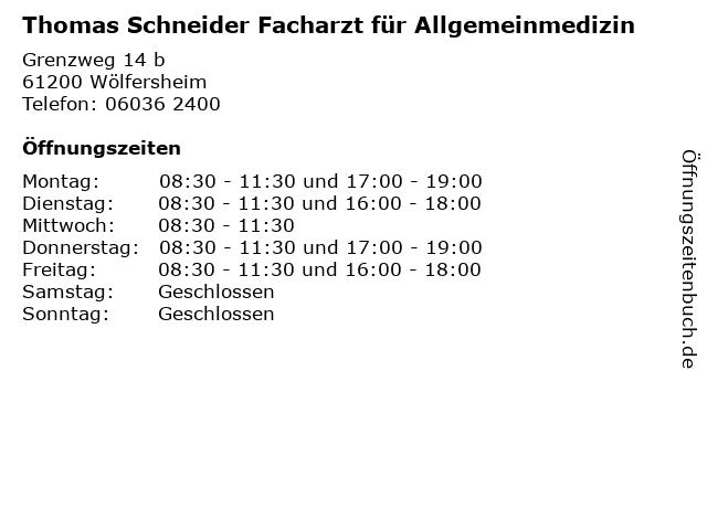 schneider wölfersheim