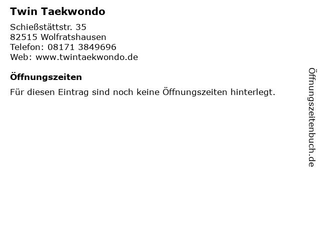 Twin Taekwondo in Wolfratshausen: Adresse und Öffnungszeiten
