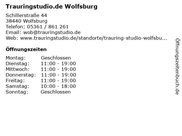 Trauringstudio.de Wolfsburg in Wolfsburg: Adresse und Öffnungszeiten