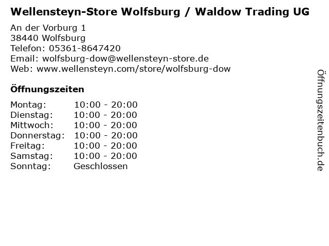 Wellensteyn-Store Wolfsburg / Waldow Trading UG in Wolfsburg: Adresse und Öffnungszeiten