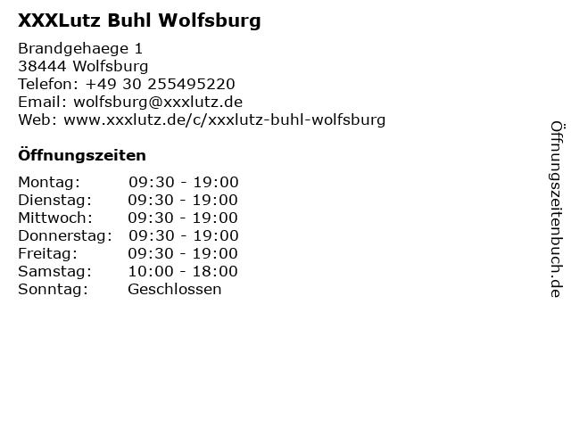 ᐅ öffnungszeiten Xxxlutz Buhl Wolfsburg Brandgehaege 1 In Wolfsburg