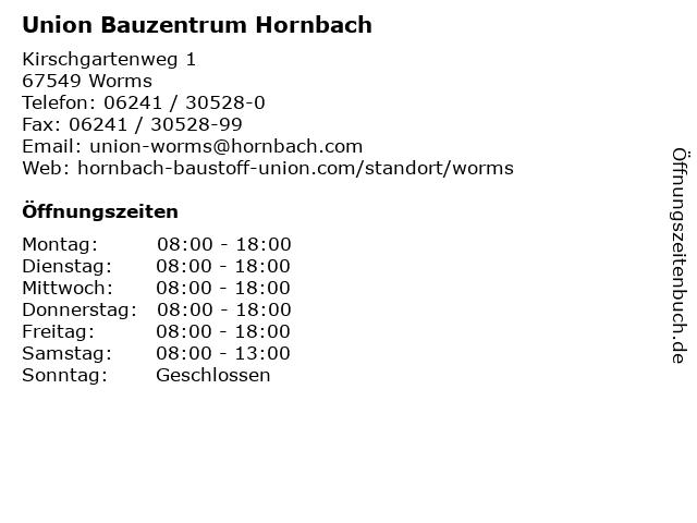 hornbach worms