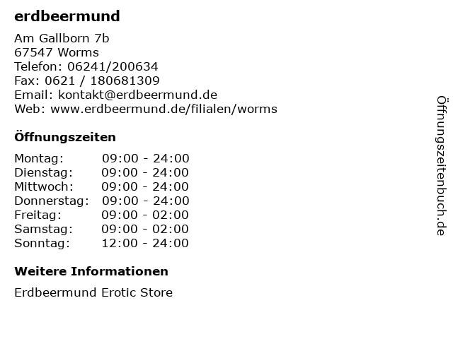 Worms Erdbeermund
