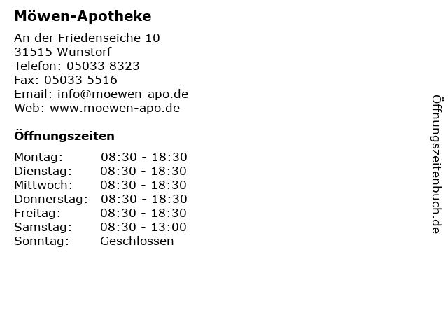 Möwen-Apotheke in Wunstorf: Adresse und Öffnungszeiten