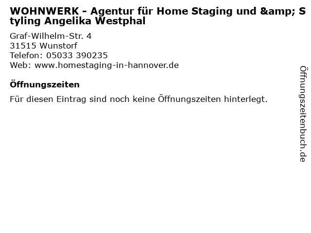 ᐅ Offnungszeiten Wohnwerk Agentur Fur Home Staging Und Styling