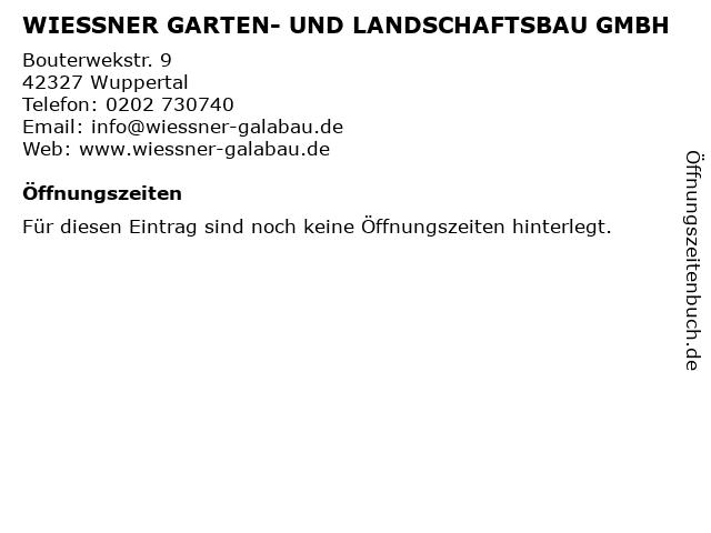 ᐅ Offnungszeiten Bernd Wiessner Garten Und Landschaftsbau