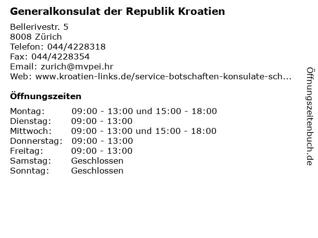 kroatisches generalkonsulat frankfurt am main