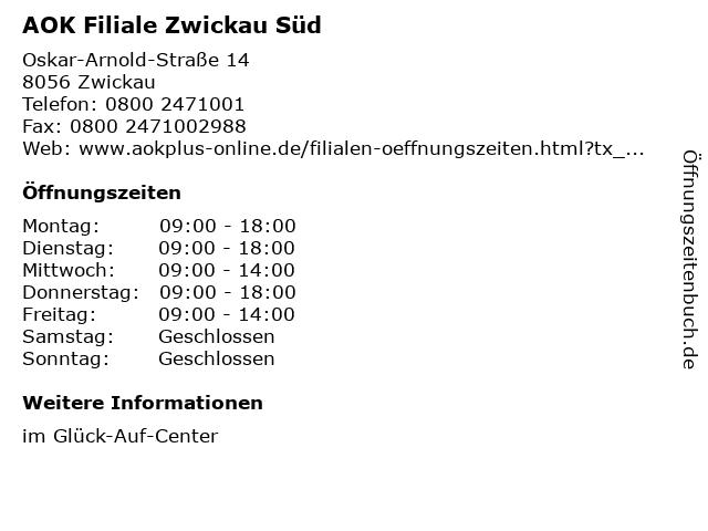 Aok Zwickau