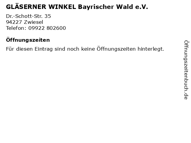 recyclinghof zwiesel